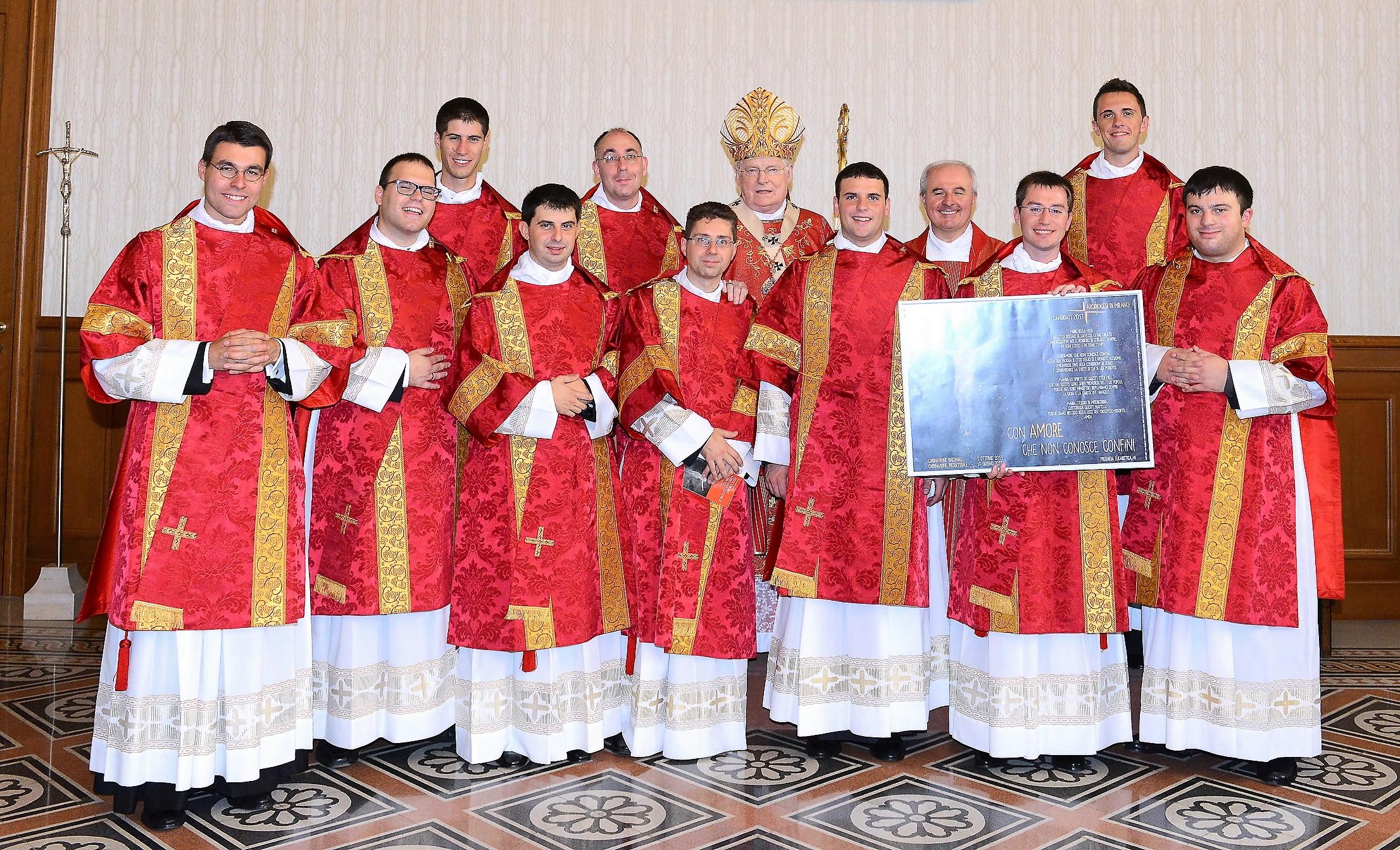 Ordinazione diaconali 1 ottobre 2016
