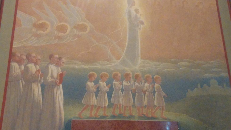 Affresco Cappella Quadriennio