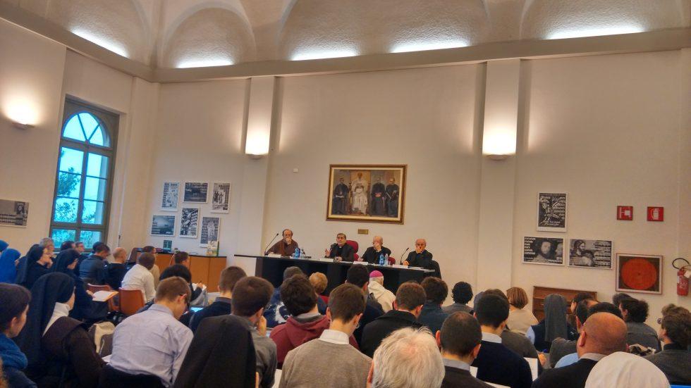 Delpini, Martinelli, Stucchi e Di Tolve al tavolo