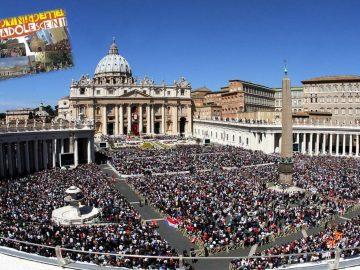 Pellegrini a Roma con i ragazzi della Professione di Fede!