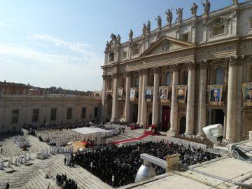 Pellegrinaggio per la canonizzazione di Paolo VI