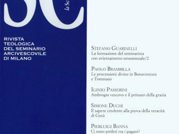 Rivista La Scuola Cattolica 146/4 (2018)